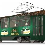 Трамвай-кафе JACOBS